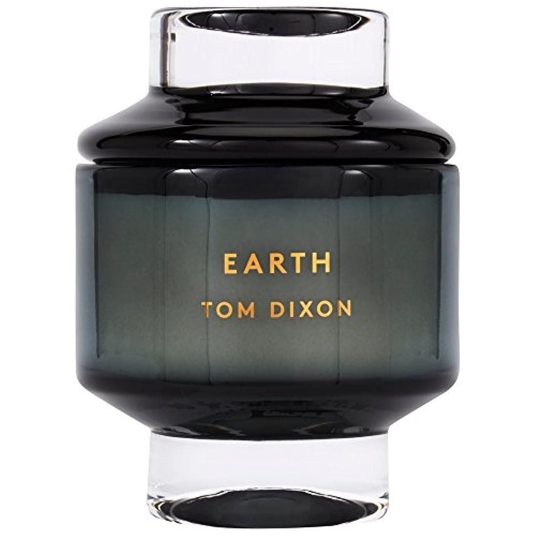 毛細血管気楽な予感Tom Dixon Earth Scented Candle Large (Pack of 2) - トムディクソン地球大の香りのキャンドル x2 [並行輸入品]