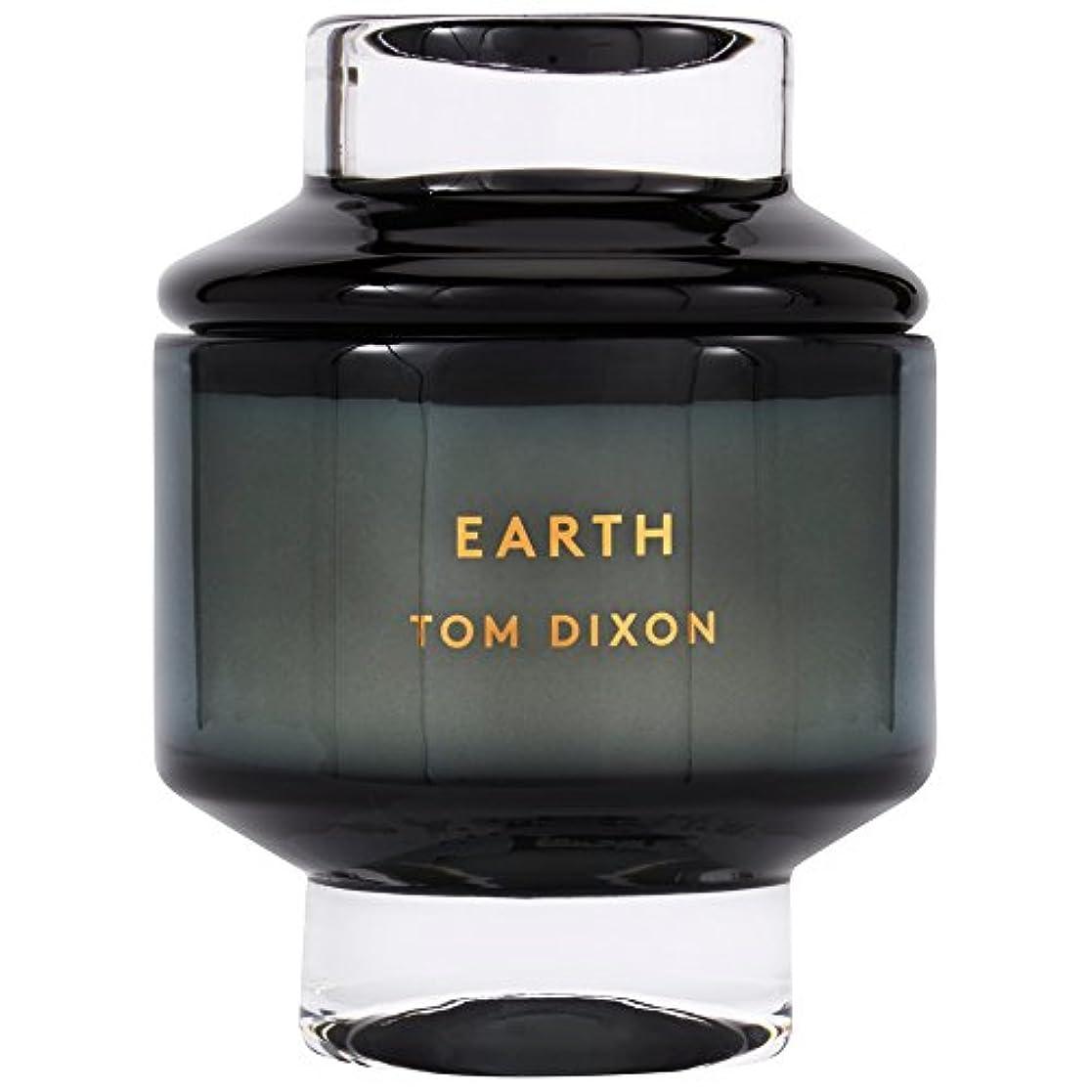 鏡種をまく祭りTom Dixon Earth Scented Candle Large - トムディクソン地球大の香りのキャンドル [並行輸入品]