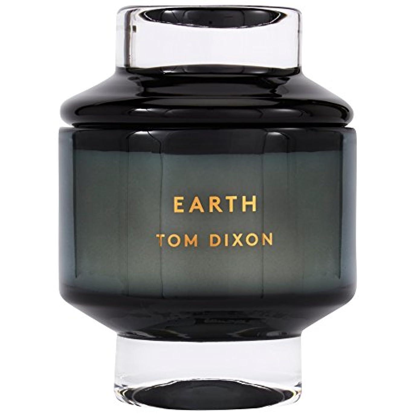 合わせて不平を言うブランドTom Dixon Earth Scented Candle Large (Pack of 2) - トムディクソン地球大の香りのキャンドル x2 [並行輸入品]