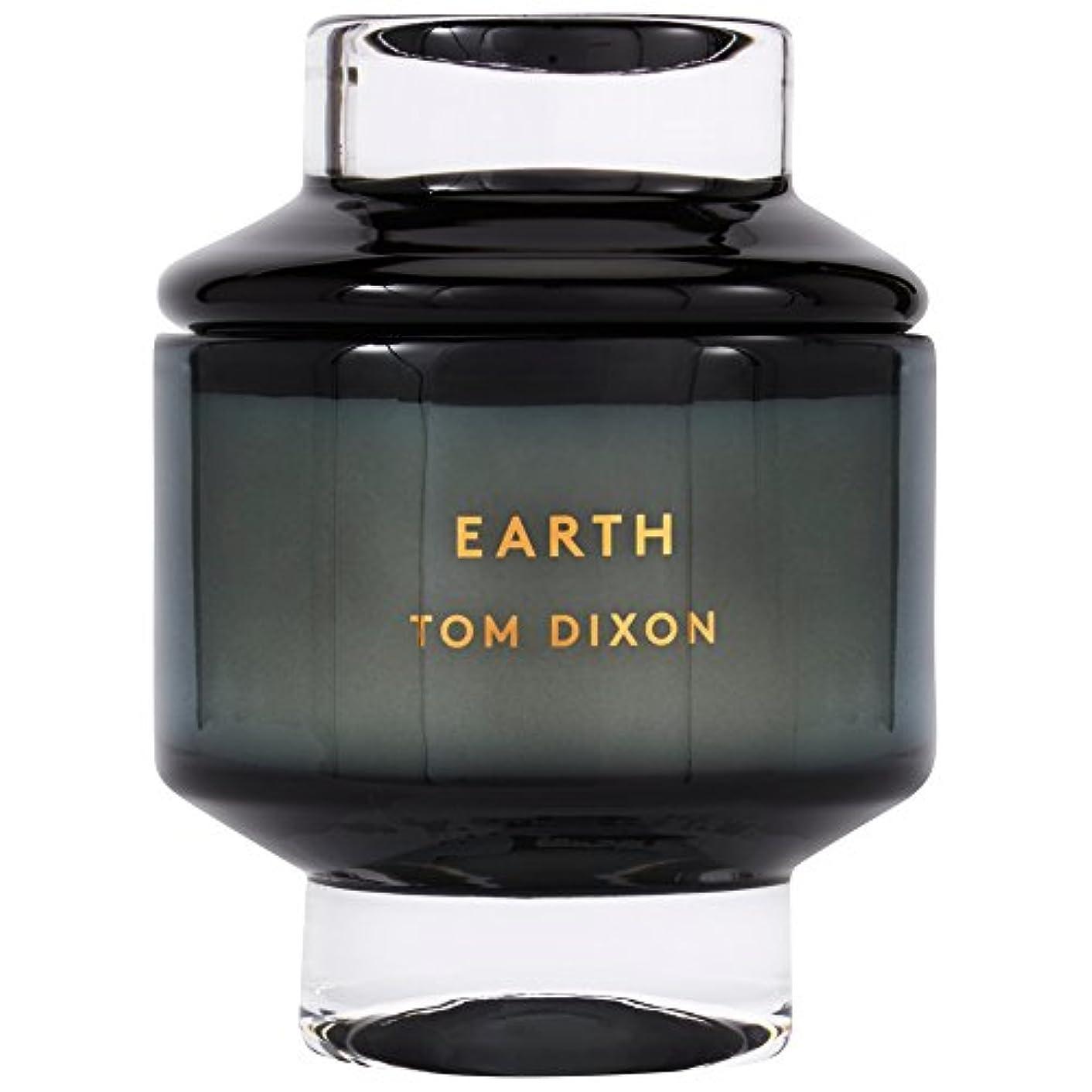 薬用図舗装Tom Dixon Earth Scented Candle Large - トムディクソン地球大の香りのキャンドル [並行輸入品]