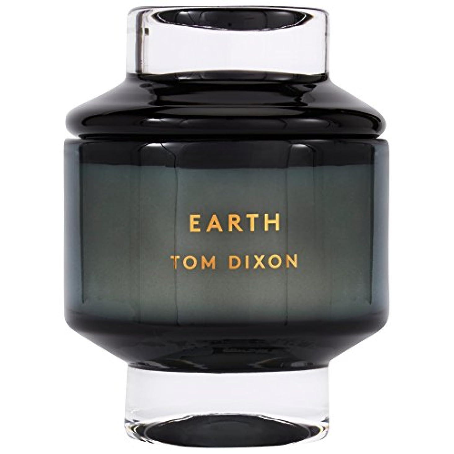 フェザーが欲しいペルメルTom Dixon Earth Scented Candle Large (Pack of 2) - トムディクソン地球大の香りのキャンドル x2 [並行輸入品]