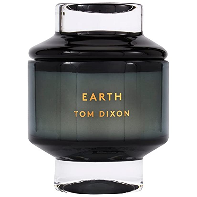 ビジュアル中性十年Tom Dixon Earth Scented Candle Large (Pack of 2) - トムディクソン地球大の香りのキャンドル x2 [並行輸入品]
