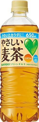 GREEN DAKARA やさしい麦茶 650ml×24本 PET
