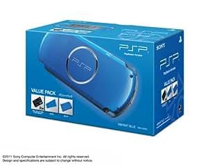 PSP「プレイステーション・ポータブル」バリューパック バイラント・ブルー (PSPJ-30024)【メーカー生産終了】