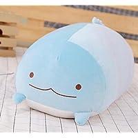 幼児期のゲーム コットンソフト餃子ピローぬいぐるみクッション人形(ブルーウォータードラゴン)