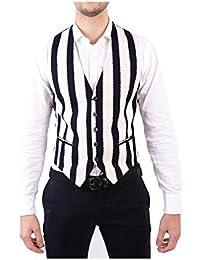 (タリアトーレ) Tagliatore メンズ トップス ベスト・ジレ White/Black Vest [並行輸入品]