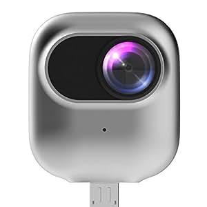 撮ラピコ(トラピコ) 360度カメラ Androidスマホに直挿し SNSへ簡単共有 パノラマ映像・VRビデオ 720度(360+360)撮影 PRO-TECTA