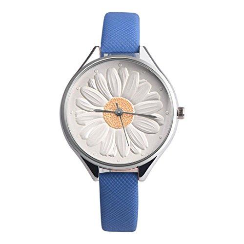 人気 素晴らしい 向日葵 5色 腕時計 ...