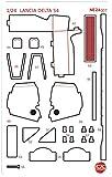 プラッツ/NUNU 1/24 レーシングシリーズ ランチア デルタS4 1986 サンレモラリー用ディテールアップパーツ プラモデル用パーツ NE24007