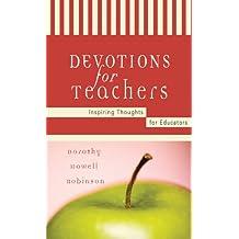 Devotions For Teachers (Inspirational Library)