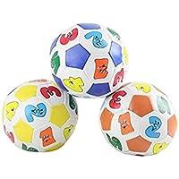 HuaQingPiJu-JP 子供ベビー遊ぶ番号学習野球教育玩具アイトレーニングボール観測ボール