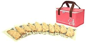 ≪公式≫【阪神名物いか焼き】冷凍いか焼きセット(10枚入り) ピンク