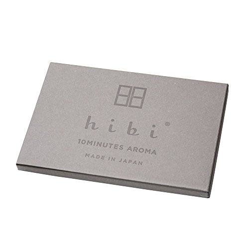 進物線香・hibi 5種の香りギフトボックス