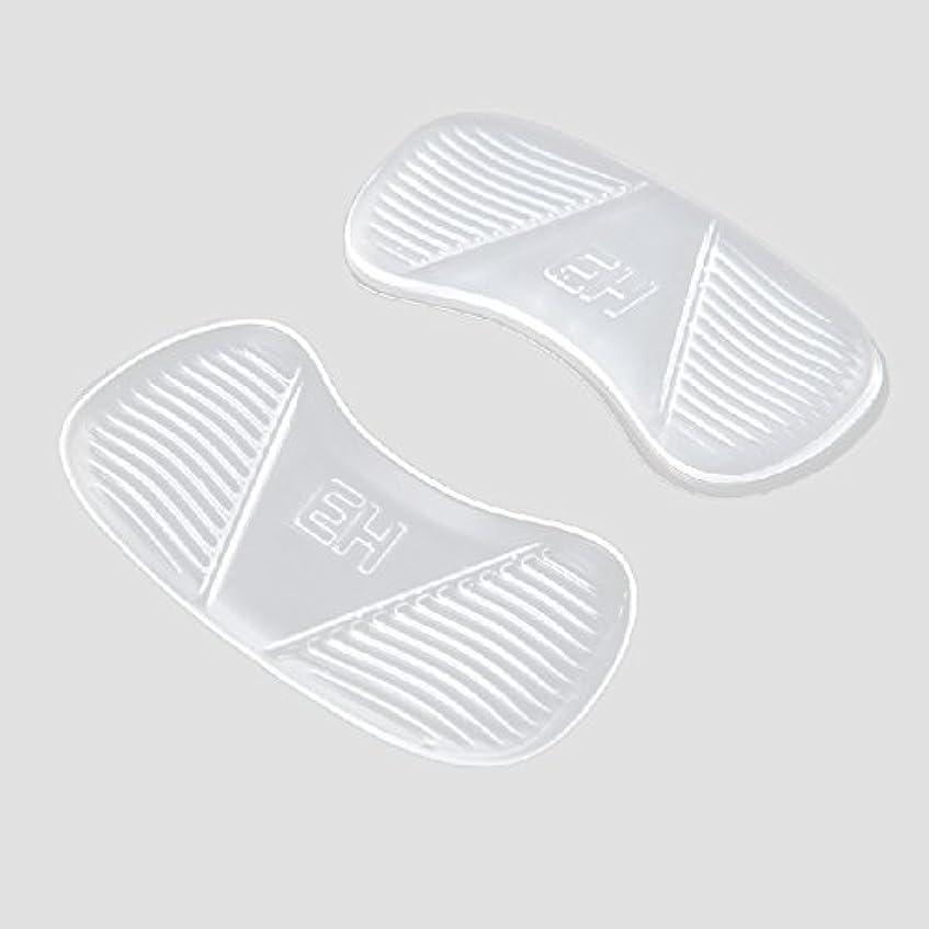 有害なニッケルとげのあるKonmed ヒールバック枕 靴用パッド
