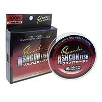ashconfish 100%フッ素釣りラインリーダー–100ヤード