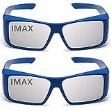 丹念に設計した3Dメガネ(IMAX)2つ