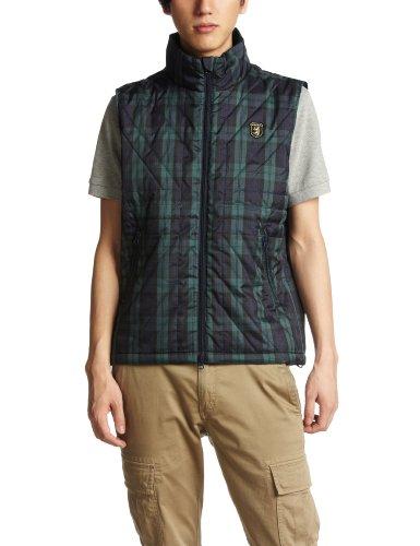 ユニオンジャックキルトパデッドジャケット ADMA254 アドミラル