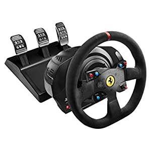 T300 Ferrari Integral Racing Wheel Alcantara Edition for PlayStation (R) 4/PlayStation (R) 3【正規保証品】