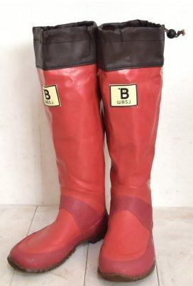 [日本野鳥の会] (BW-01) バードウォッチング長靴 レインブーツ/ラバーブーツ グレー