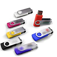 Linannau uディスク回転色64G32G16G (Color : ブルー, Size : 16G)