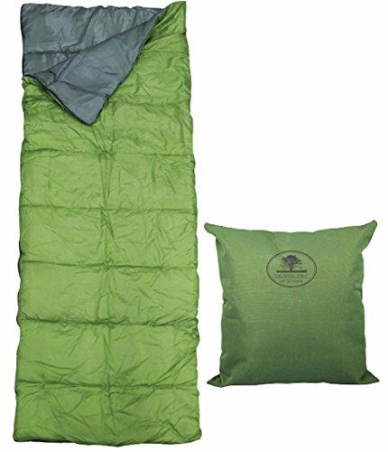 屋内・屋外 洗える 多用途 寝袋 3WAY(寝袋、クッション、掛け布団) GR MCO-42GR...