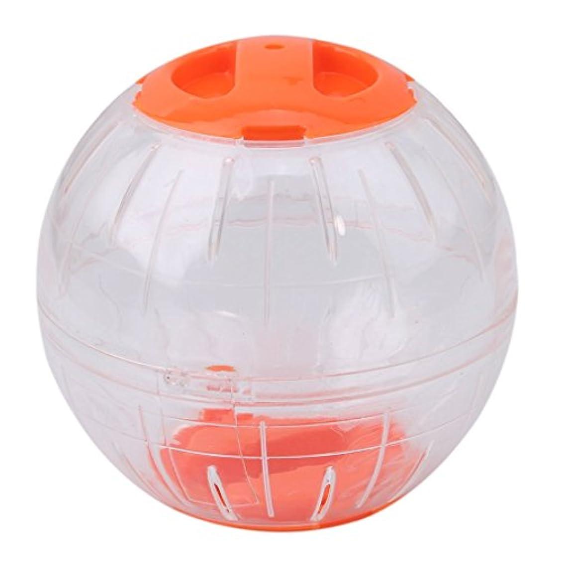 超音速拒否ゲームOnior ランナーボール ハムスターとマウス 小動物 ペット用品 おもちゃ プラスチック製 ペット遊び場 運動不足解消 玩具 人気 直径12cm耐久性