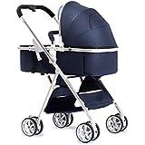 子供のベビーカーの軽量の折りたたみは座ることができ、携帯用二方向四輪衝撃吸収材子供のトロリー子供の傘 ( Color : 2 )