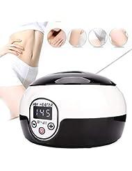 ワックス暖かい美容ツールledデジタルディスプレイ調節可能な温度ワックスヒーター400ミリリットル用女性ビキニ脱毛ツール,Black,Europeanstandardplug