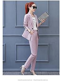 レディース 2点セットスーツ ファッション 就活 ビジネス 通勤 リクルートパンツスーツ チェック全4色春着