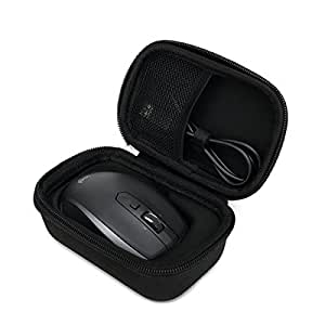 for Logitech MX Anywhere 2 Wireless Mobile Mouse Carrying Travel Case Bag by Aproca [並行輸入品]