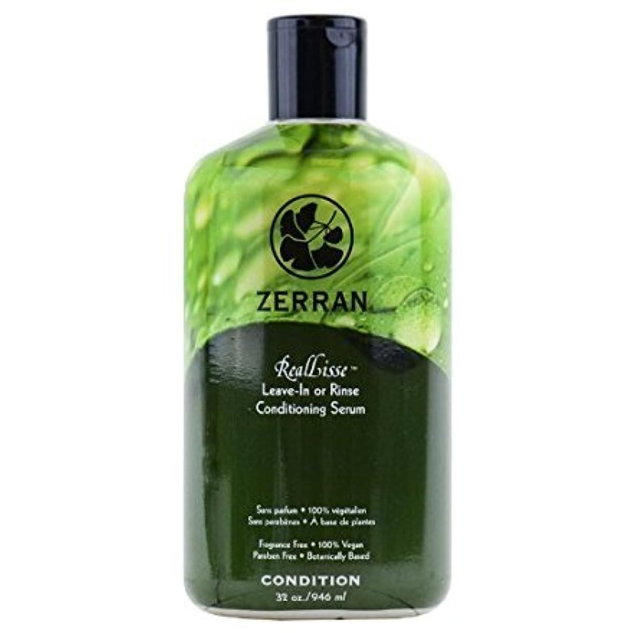 ディンカルビル無視できるライブZerran Hair Care Zerran RealLisseまま-Inまたはリンスコンディショニングセラム - 32オンス 32オンス