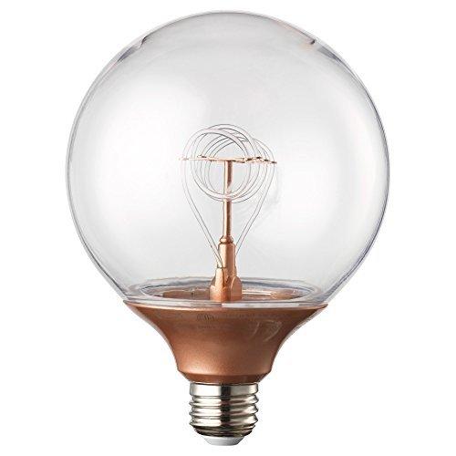 RoomClip商品情報 - IKEA NITTIO 00322675 LED電球 E26 球形 コッパーカラー