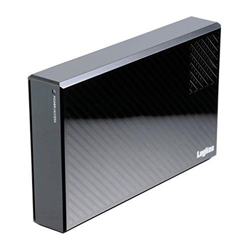 Logitec 外付けHDD 2TB eSATA・USB3.0 WD Red搭載 冷却ファン付ハードディスク 日本製 LHD-EG20TREU3F