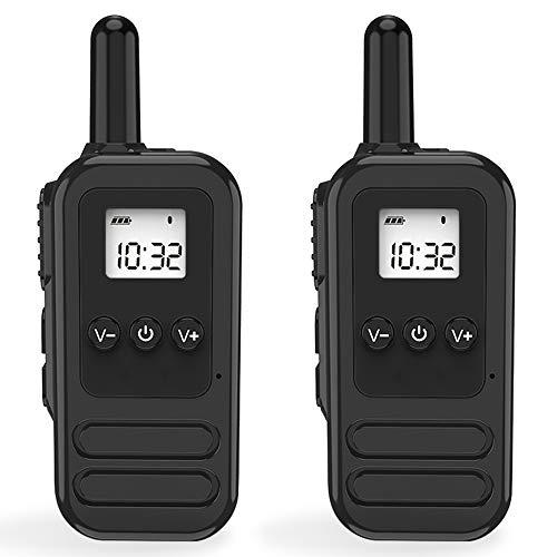 トランシーバー 無線機 免許不要 特定小電力 超長距離タイプ 携帯型 簡単操...