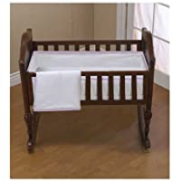 Baby Doll Bedding Forever Mine Cradle Set, Lilac by BabyDoll Bedding