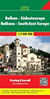 Balkans - South-East Europe Road Map 1:2 000 000