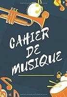 Cahier De Musique: Avec 12 Portées De Dimension A4 Pour Musique & Paroles   50 Pages