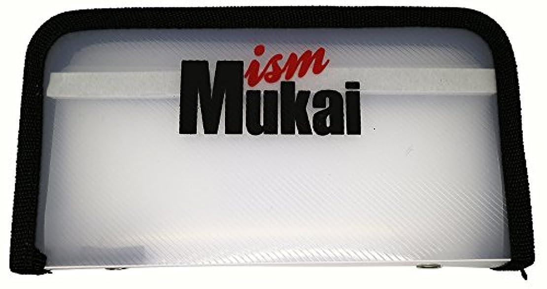 退屈させる現実的勢いムカイ(Mukai) MUKAI クリアクランク&スプーンケース ブラック.