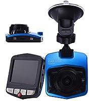 Chezaaダッシュカム カー 2.4インチ フルHD 1080P 車載カメラ ビデオレコーダー ダッシュカム Gセンサー 120 A+広角レンズ ブルー
