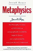 Metaphysics (Suny Series in Philosophy)
