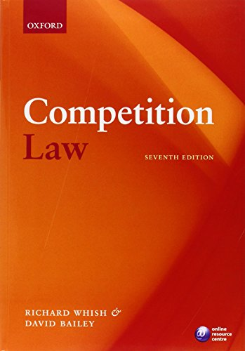 Download Competition Law 0199586551