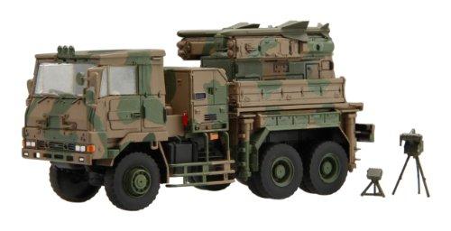 1/72 ミリタリーシリーズNo.11陸上自衛隊 3 1/2t 大型トラック 発射装置搭載車