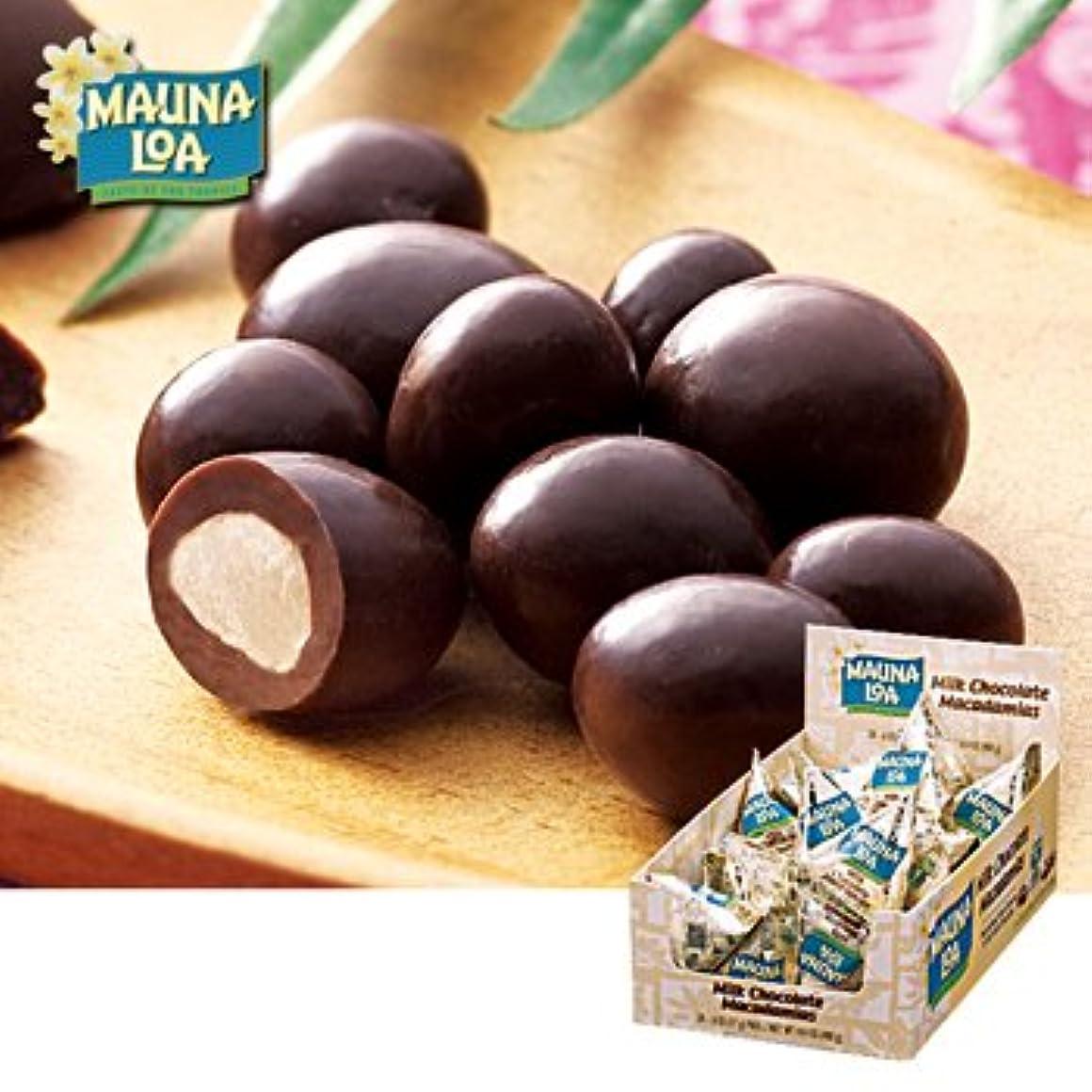 判読できない機械的に工場ハワイお土産 マウナロア マカデミアナッツチョコ ミニパック 24袋セット
