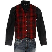 Wyoming Traders Men's Wool Vest - Vb-Black