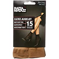 Razzamatazz Women's Pantyhose 15 Denier Luxe Anklet