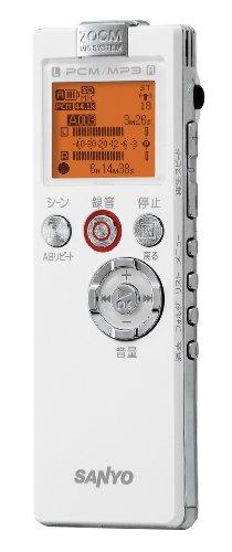 SANYO リニアPCMレコーダー(ホワイト) [ICR-PS501RM(W)]