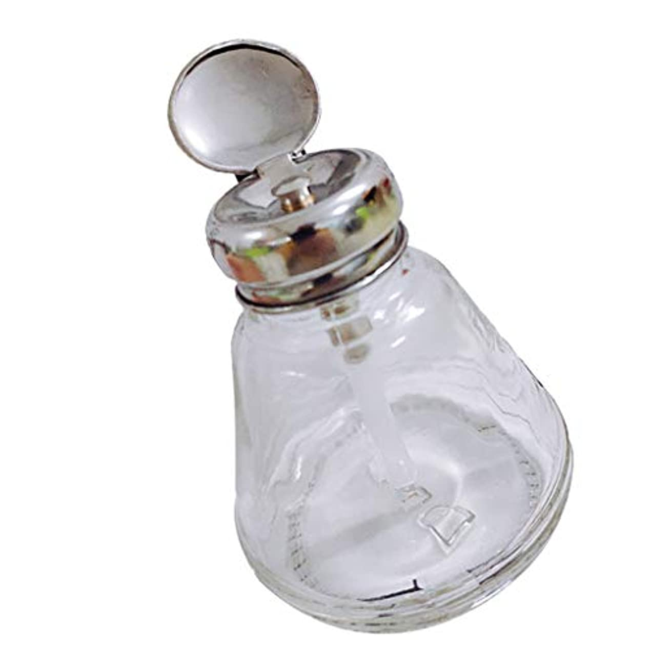 白鳥液化する内側CUTICATE ネイルアートプレスボトル ネイルアートツール ネイル道具 ネイルポリッシュリムーバー アルコール