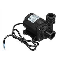 IP68 DC12V 5M 800L / H超静かなブラシレスモーター水中プールの水ポンプ