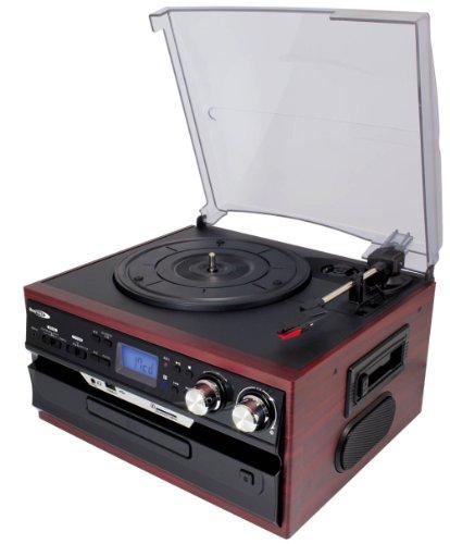 RoomClip商品情報 - クマザキエイム Bearmax マルチ・オーディオ・システム [SDカード・USBメモリにダイレクト録音可能] ローズウッド×ブラック MA-17CD