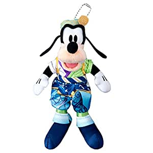 ディズニー ランド 夏祭り 2016 ぬいぐるみバッジ グーフィー ぬいば チェーンバッジ ( 東京 ディズニーランド限定 グッズ お土産 )